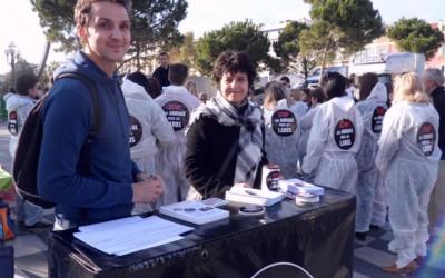 Manifestation stop aux animaux de laboratoires