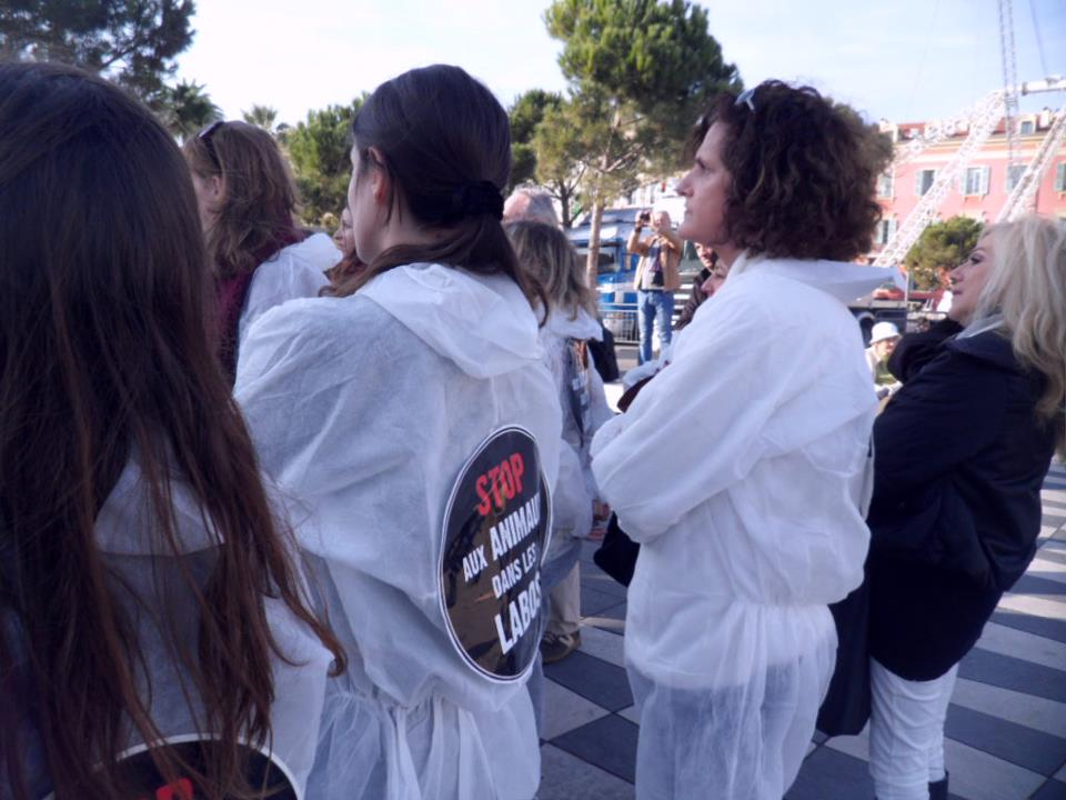 Stop aux animaux de labo 2012